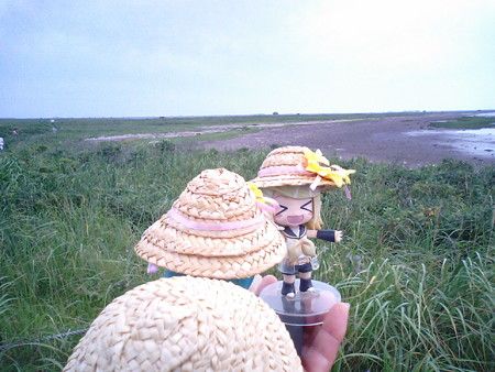 リン:「ではトドワラまで約 1.2km、30分歩きましゃうwww」 レン:「...