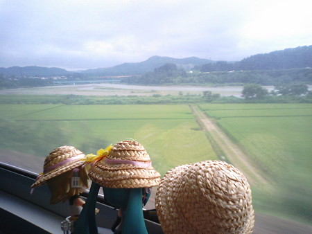 小千谷→越後川口間。しばらくは信濃川沿いに登っていきます。 いつも...