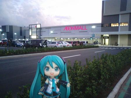 昨日プレオープンした、イオンモール木更津に来ました! ミク:「新...