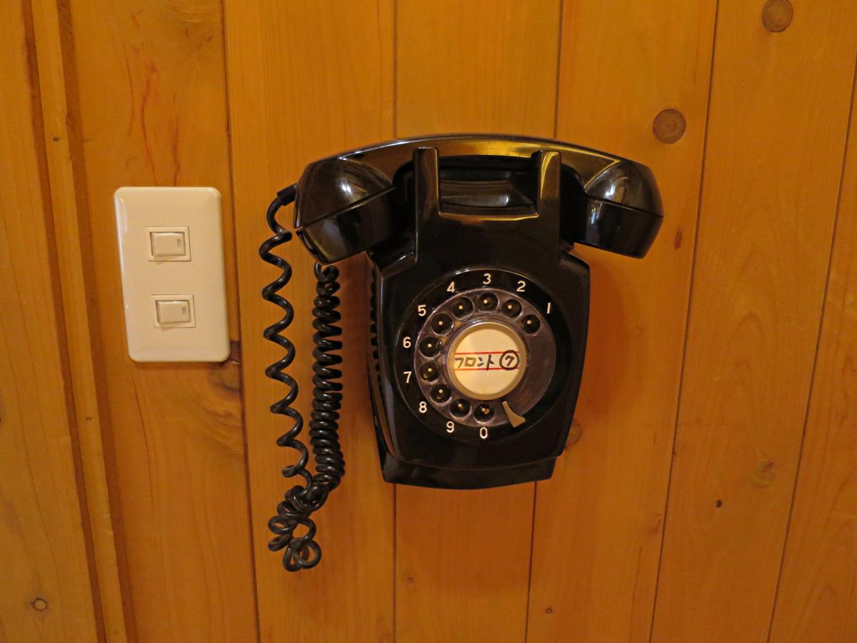 大浴場の電話