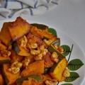 Photos: 南瓜と胡桃のマヨネーズ炒め