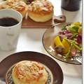 Photos: アーモンドクリームパンで朝ごパン