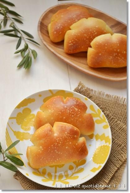 豆乳カスタードクリームパン@酒種