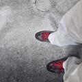 Photos: 地に足を。