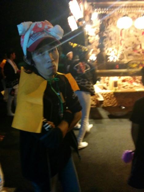 2015/10/18*永田町だんじり後ろにて