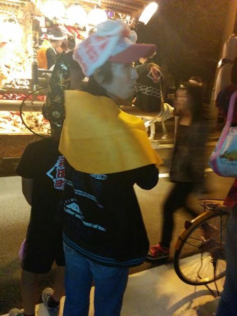 2015/10/18*永田町だんじり秋祭り後ろにて