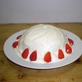 写真: ドームケーキ