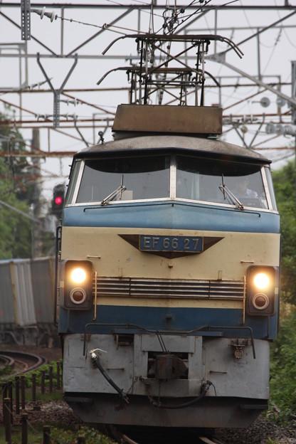 5093列車に入ったEF66-27号機
