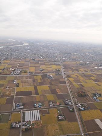 雄大な関東平野