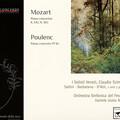 写真: モーツァルト、プーランク:2台・3台のピアノと管弦楽のための協奏曲