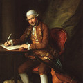 写真: Thomas Gainsborough (1727?1788) Portrait of Carl Friedrich Abel (1723-1787)