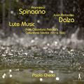 Photos: ダルツァのリュート曲集、スピナチーノのリュート曲集