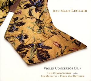 写真: ルクレール:ヴァイオリン協奏曲集op.7~フランス・バロックのイタリア趣味