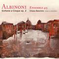 写真: アルビノーニ:5声のシンフォニアop.2 (1700年ヴェネツィア刊)