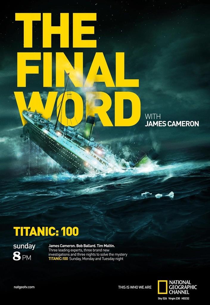 泰坦尼克号:与詹姆斯·卡梅隆走到世界尽头