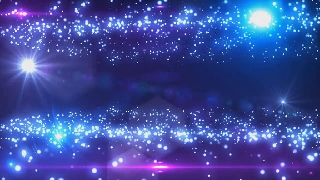 星空粒子星光晚会视频素材