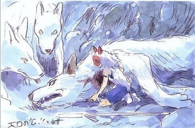 宫崎骏印象绘本