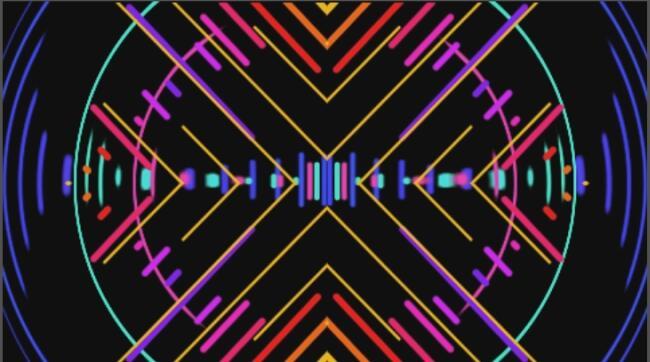 AE模板-音乐生成节奏跳动波形可视化