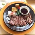 Photos: 国産牛の赤身ステーキ