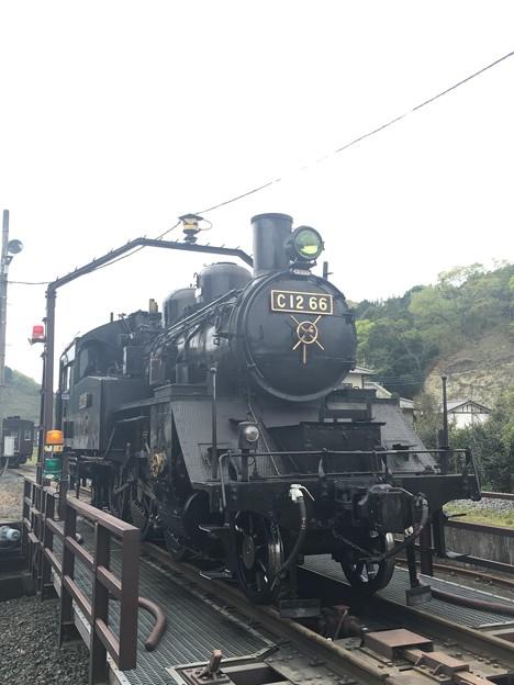 真岡鐵道 C12 66 茂木駅