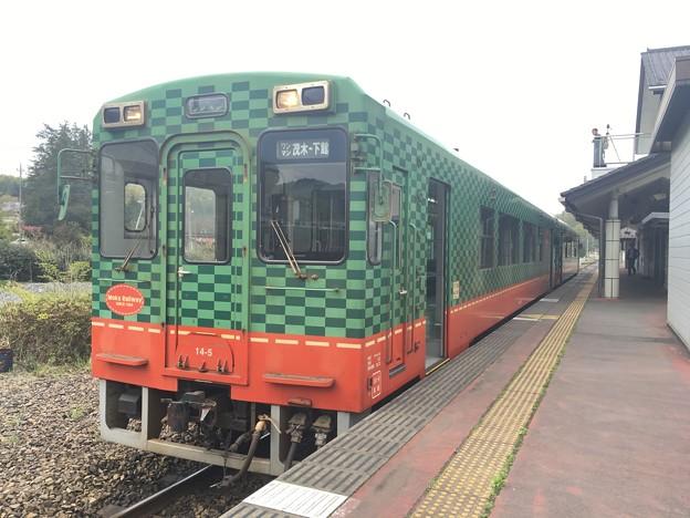 真岡鐵道 モオカ14 真岡駅