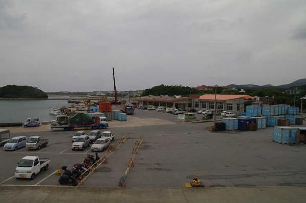 s1443_兼城港全景_沖縄県久米島町