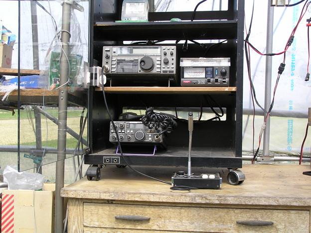 農業ハウス内での無線設備