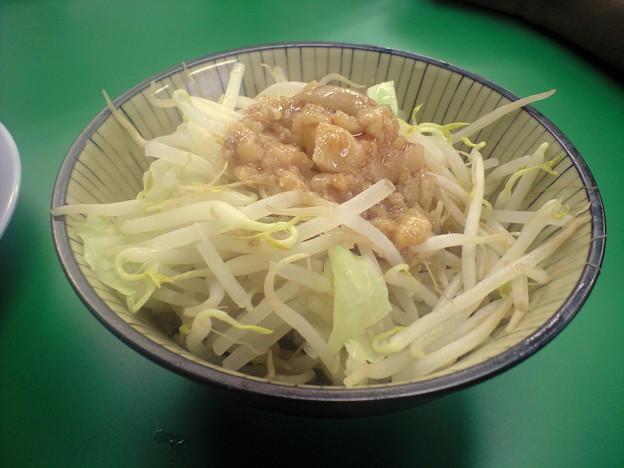 092-02「ラーメンつけ麺 今を粋ろ」ちょいまし野菜別盛