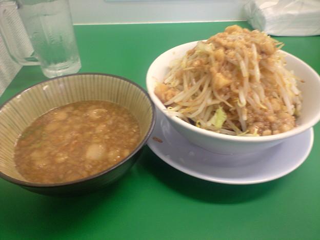 092-02「ラーメンつけ麺 今を粋ろ」つけ麺野菜まし
