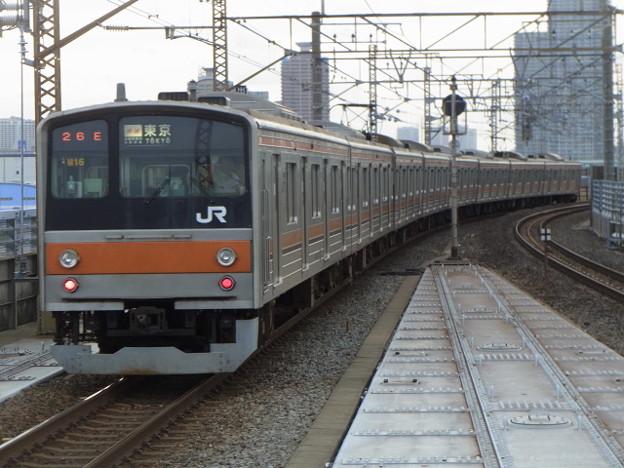 武蔵野線 快速東京行 RIMG2601