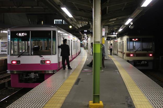 新京成8800形 8816(新塗装)・8807F