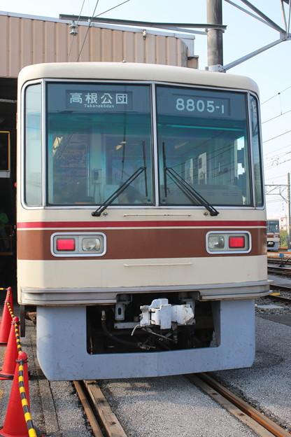 新京成8800形 8805F(高根公団表示)