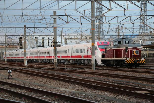 名古屋臨海鉄道ND55 27+台湾鉄路局TEMU2000形 TED2038+TDE2037 甲種輸送