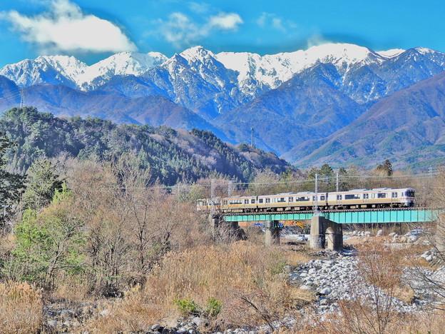 Photos: 冬の飯田線(HDR)