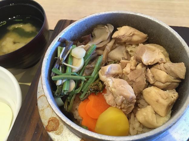 恵那鶏釜めし#1