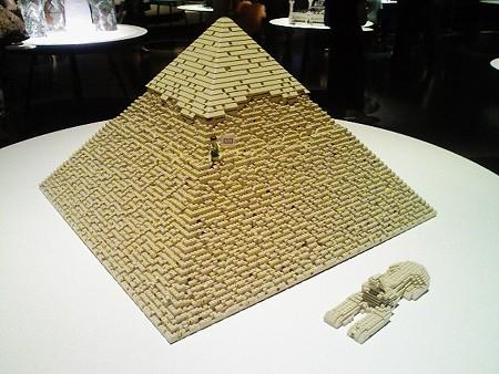 080829-レゴ展 ピラミッド (1)