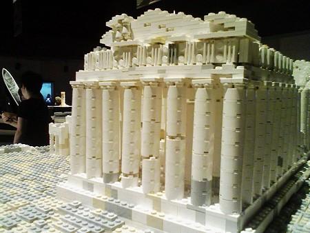 080829-レゴ展 パルテノン神殿 (2)
