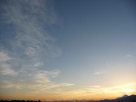 141006-富士山(夕) (1)