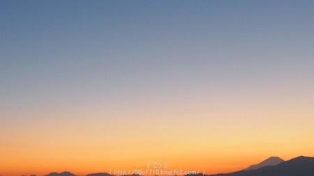 151012-今日の富士山(夕) (1)