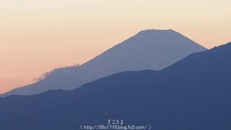 151012-今日の富士山(夕) (2)