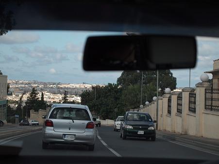 マルタの車窓から