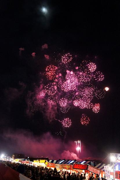 写真: 長野えびす講煙火大会