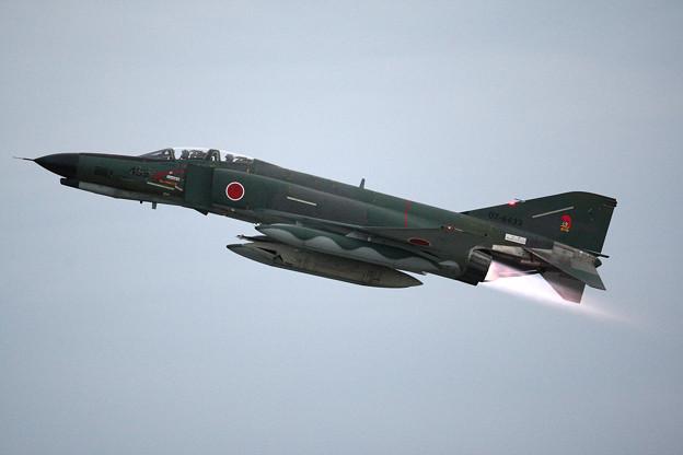 RF-4Eファントム アフターバーナー