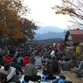 Photos: 高尾山山頂も人人人2015.11.21