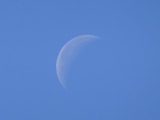 月齢23.8日 弓張月 10月7日11時