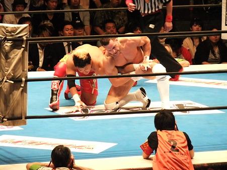 新日本プロレス BEST OF THE SUPER Jr.XIX Aブロック公式戦 プリンス・デヴィットvsKUSHIDA (2)