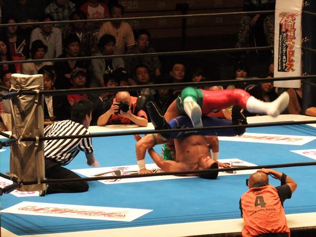 新日本プロレス BEST OF THE SUPER Jr.XIX Aブロック公式戦 BUSHIvsロッキー・ロメロ (3)