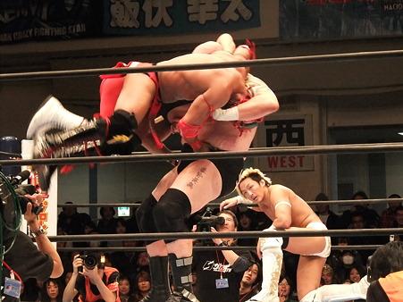 新日本プロレス CMLL 後楽園ホール 20110123 (21)