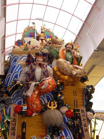 14 博多祇園山笠 走る飾り山 瑞祥七福神(ずいしょうしちふくじん)2012年 写真画像6