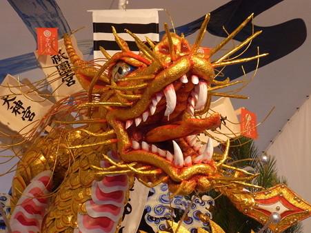 33 博多祇園山笠 千代流 舁き山 黄金のドラゴン 勢竜吉祥瑞(せいりゅうきっしょうのしるし)2012年 写真画像8